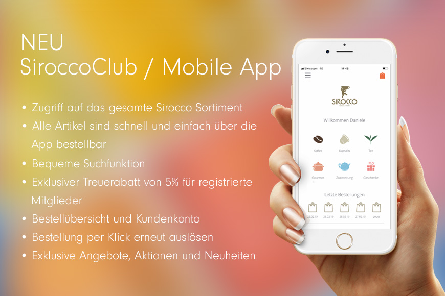 NEU: SiroccoClub / Mobile App