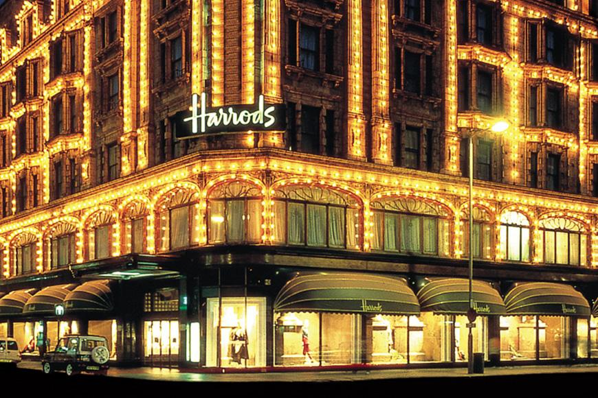 Sirocco bei Harrods in London