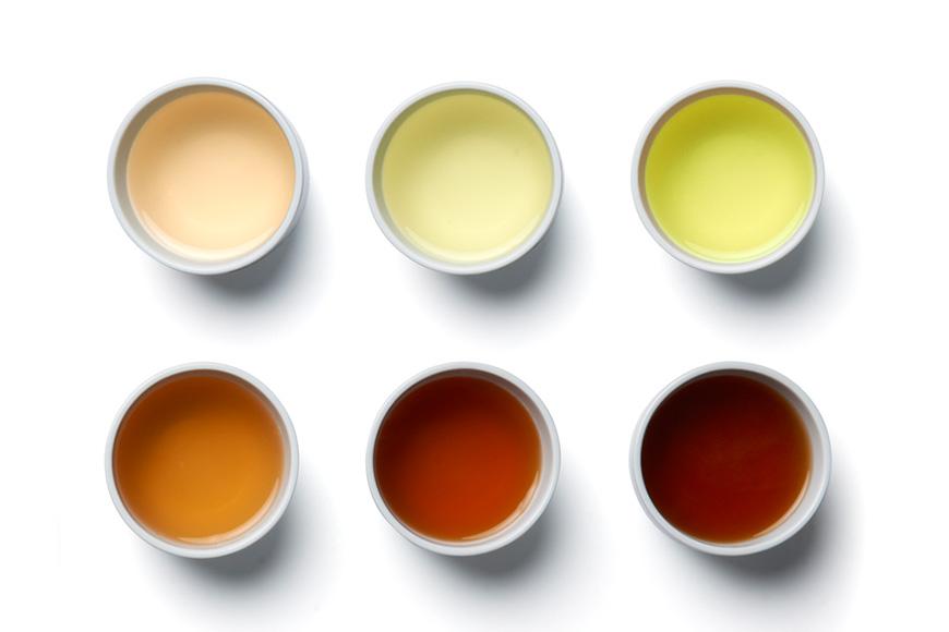 Die vielen Farben des Tees