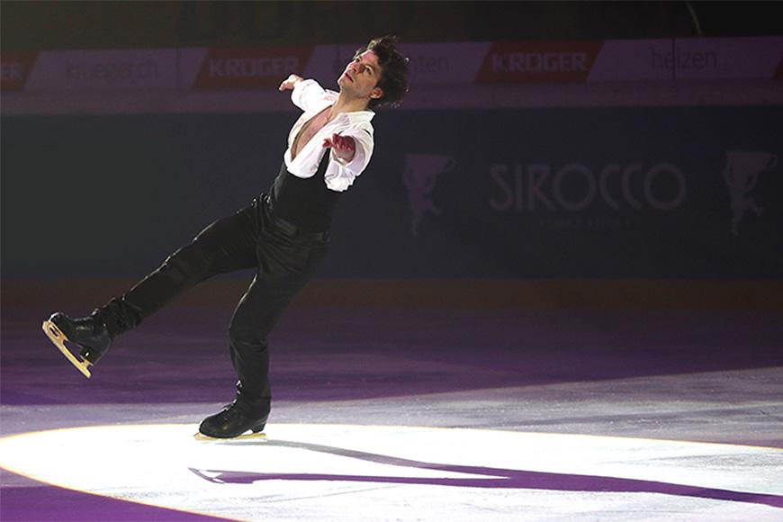 Sirocco ganz nah bei den Eiskunstlauf-Weltstars