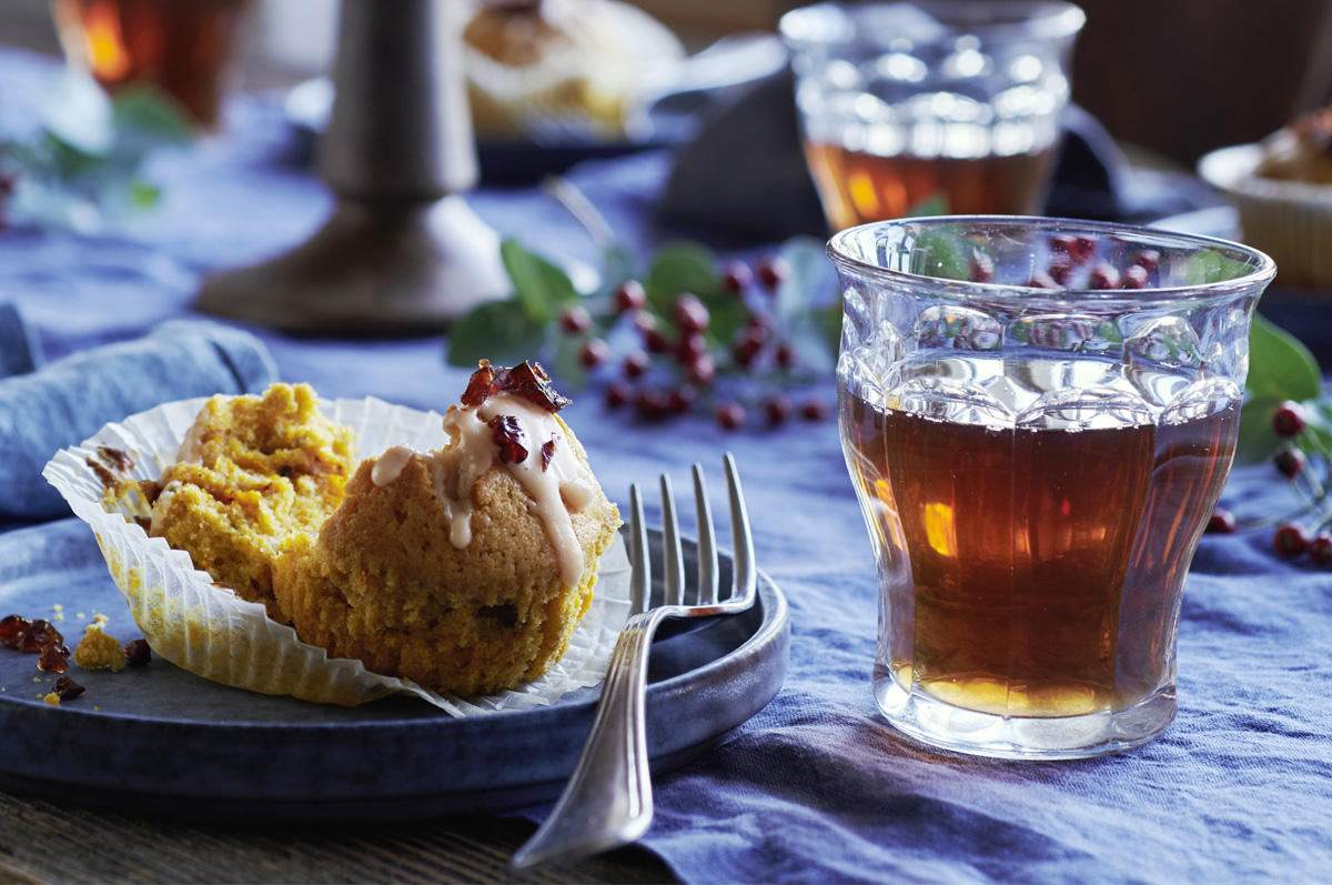 WINTER MOMENTS KÜRBIS-Muffins – perfektes Dessert in der Winterzeit