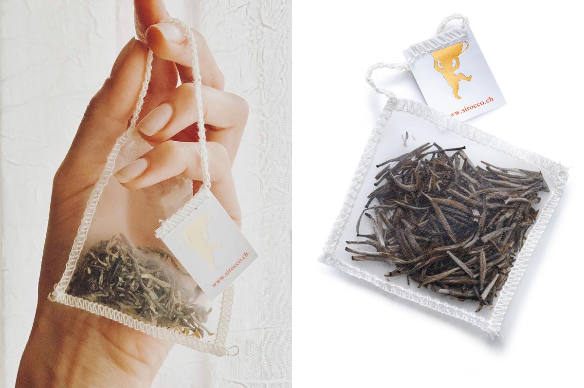 Liebe zum Detail: Handgefertigte Teebeutel
